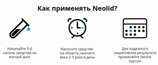 Применение Neolid