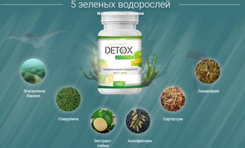 Состав препарата Detox