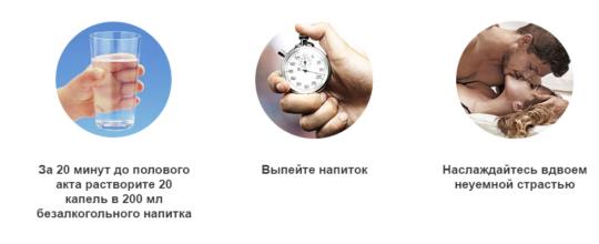 Применение средства Возбудитель Распутница