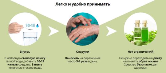 Примение препарата Папидерм