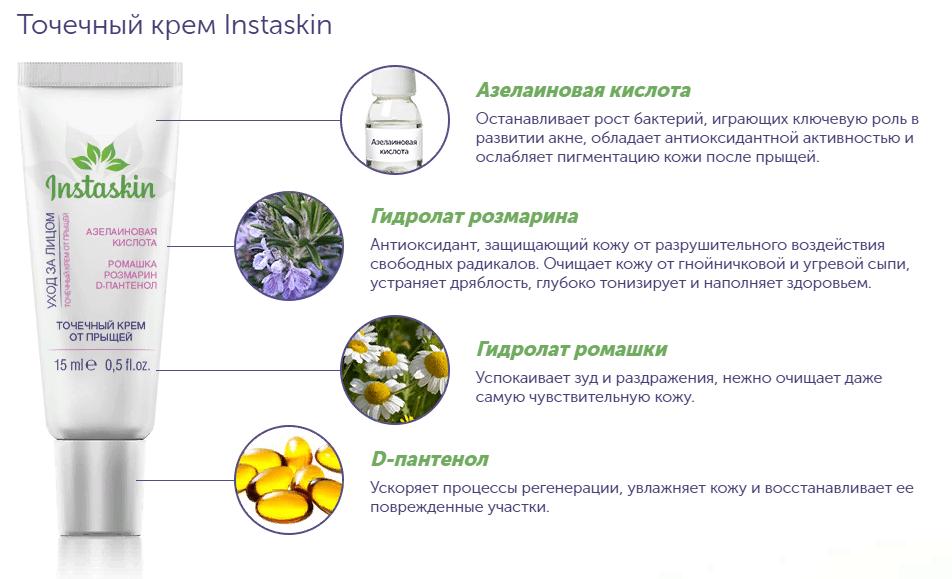 Instaskin - комплекс от прыщей в Вятских