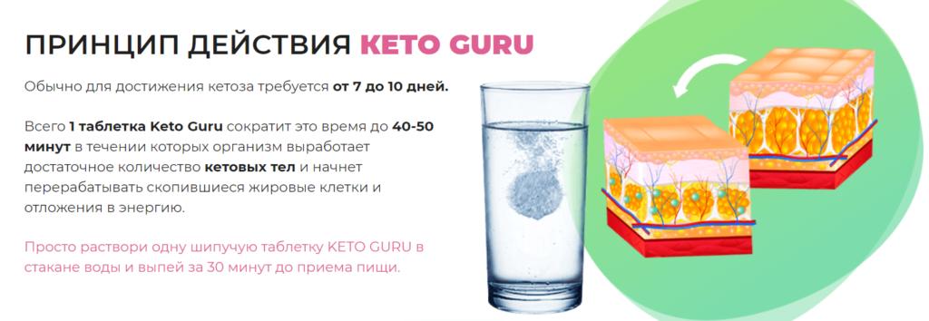 Способ применения Кето Гуру