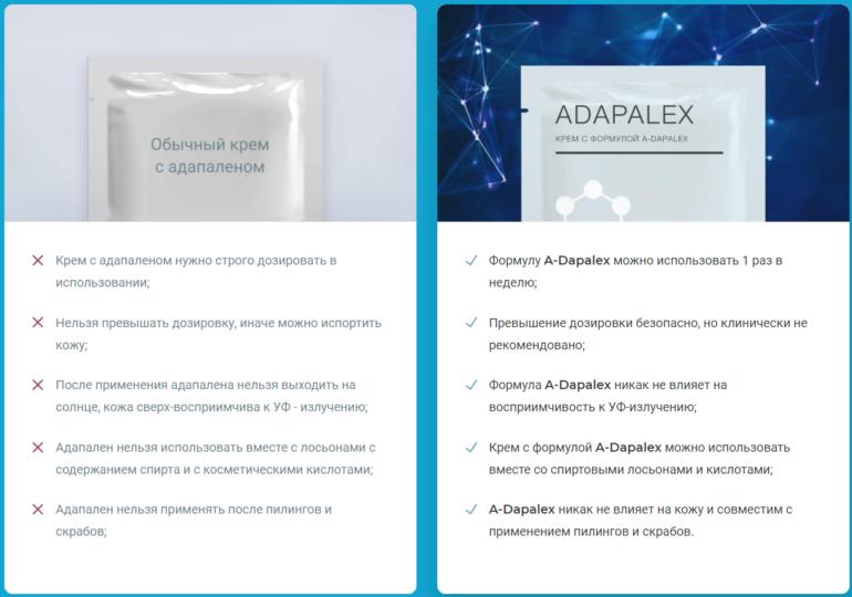 Улучшенная формула крема Адапалекс