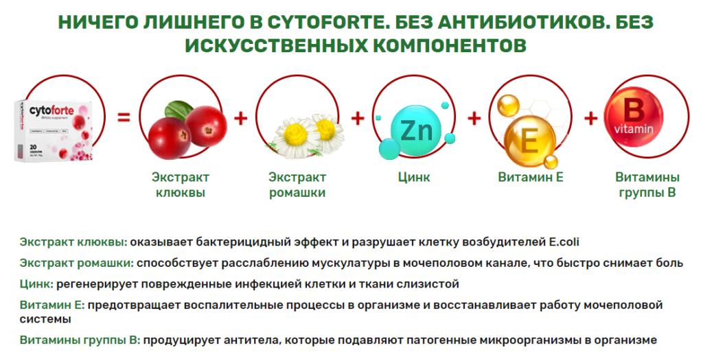 Состав Цитофорте