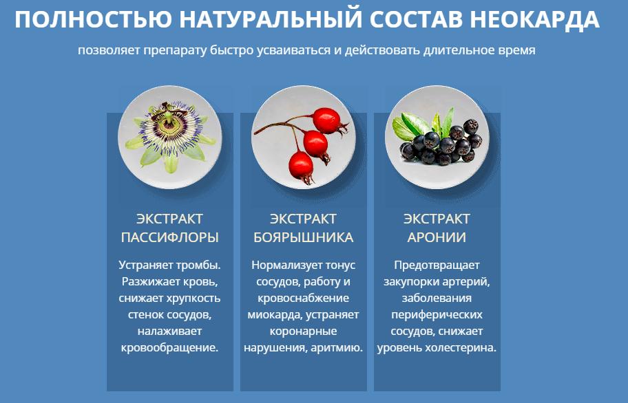 Состав препарата Неокард